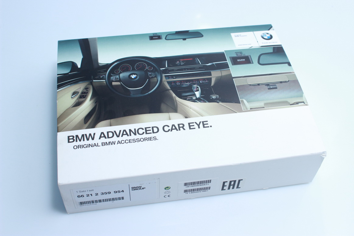 Bmw Genuine Advanced Car Eye Hd Camera Front Rear Video