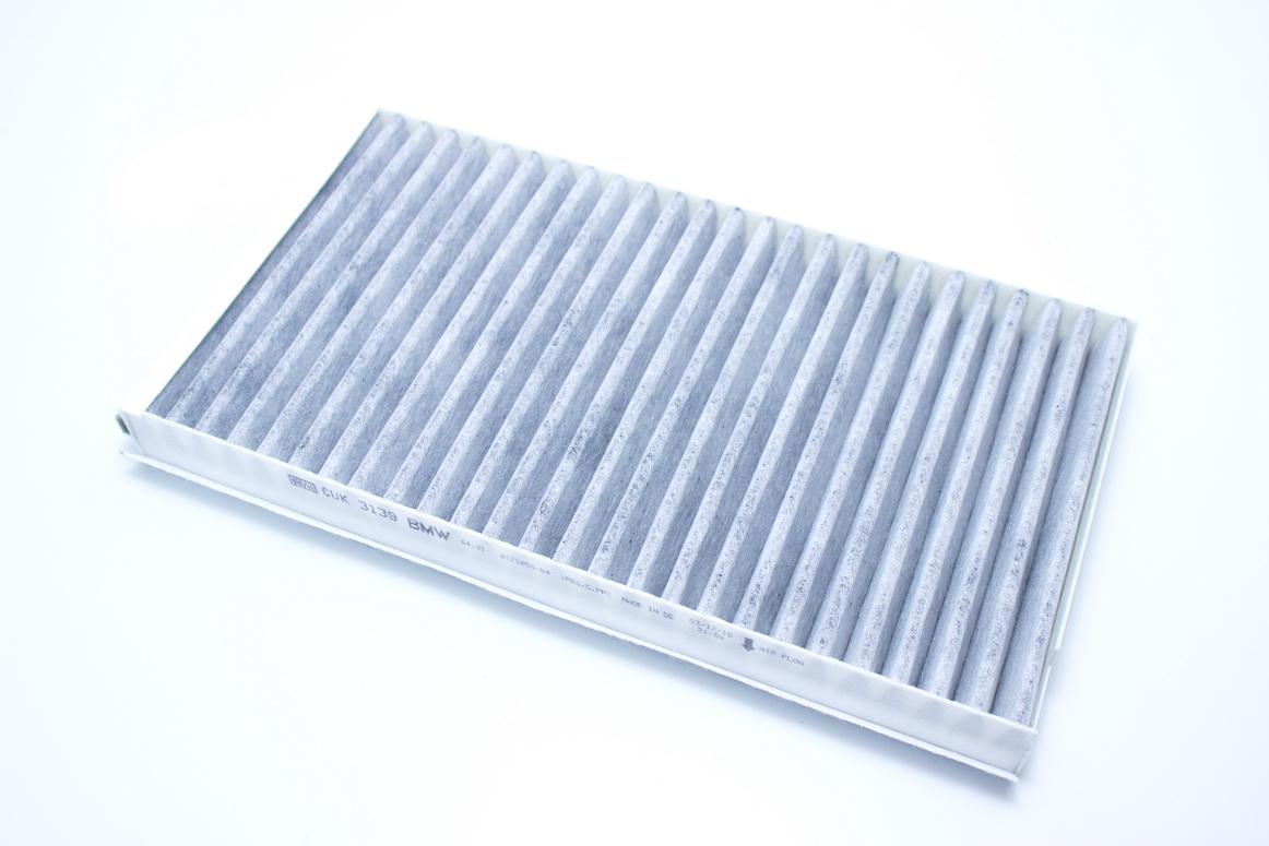 For BMW E60 E63 Set Of 2 Cabin Air Filters Activated Charcoal 64 31 9 171 858