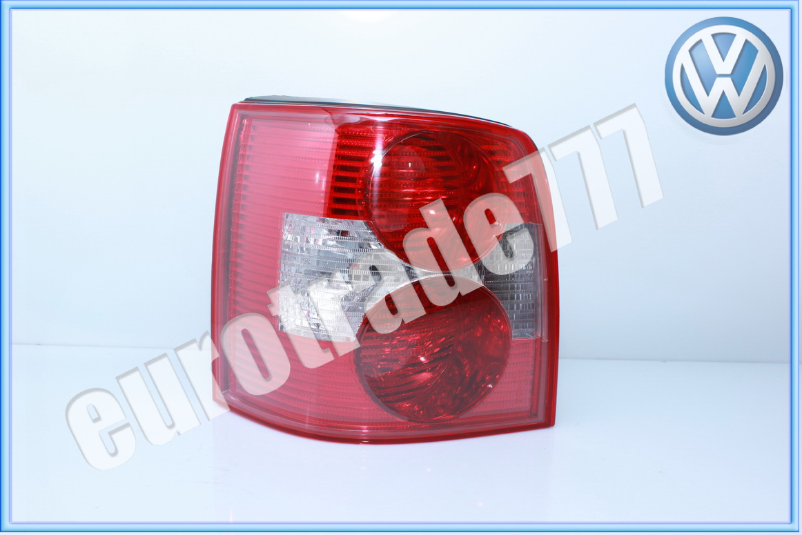 GENUINE VOLKSWAGEN PASSAT B5.5 01-05 REAR LIGHT O//S RIGHT DRIVERS ~