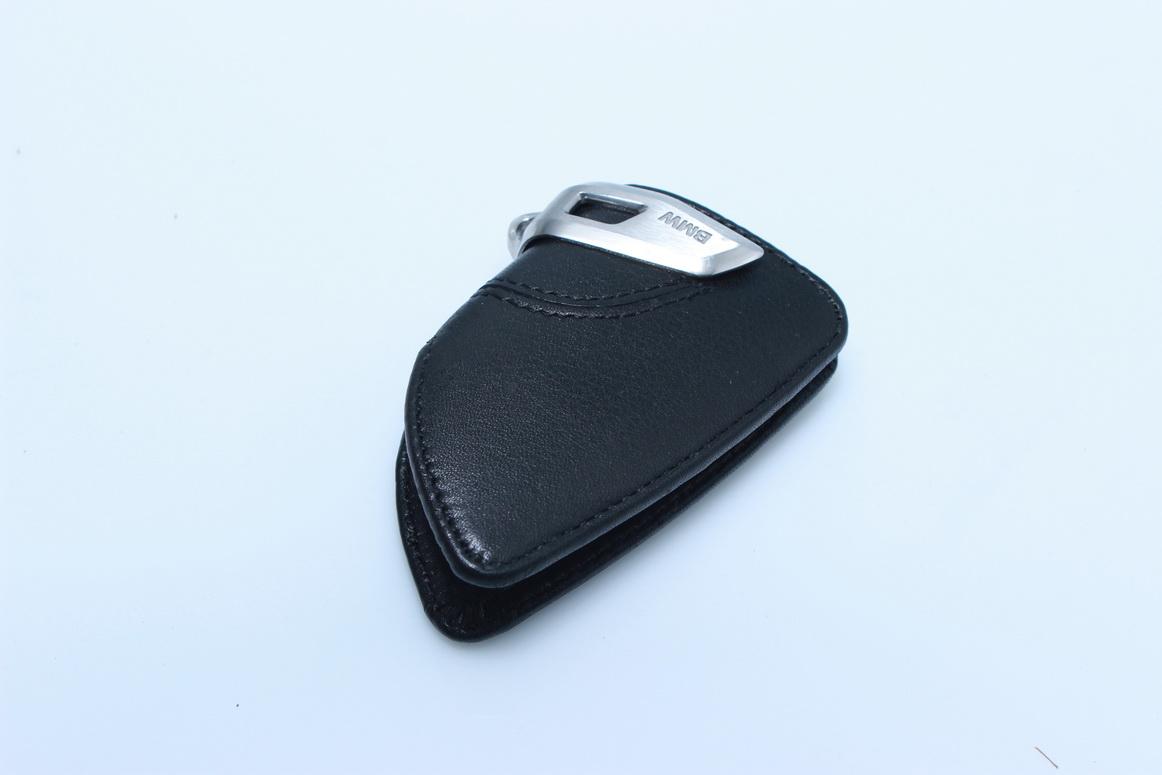 BMW Genuine Key Holder Fob Leather Case Luxury Black F15 X5 82292344033 Germany