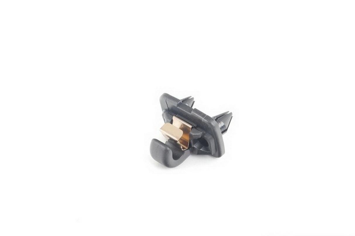 NEW-OEM-Genuine-AUDI-A4-A3-A5-TT-Interior-Sun-Visor-Hook-Clip-Soul-Black-Bracket thumbnail 3