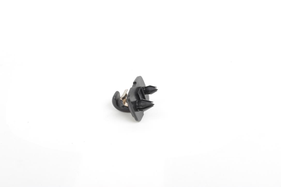 NEW-OEM-Genuine-AUDI-A4-A3-A5-TT-Interior-Sun-Visor-Hook-Clip-Soul-Black-Bracket thumbnail 2