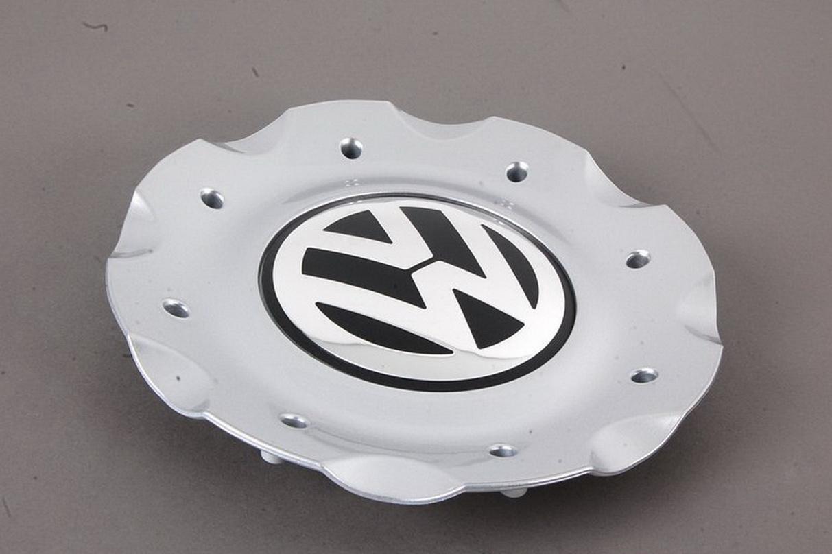 Genuine Wheel Center Hub Cap Bright Chrome VW Passat Phaeton 03-06