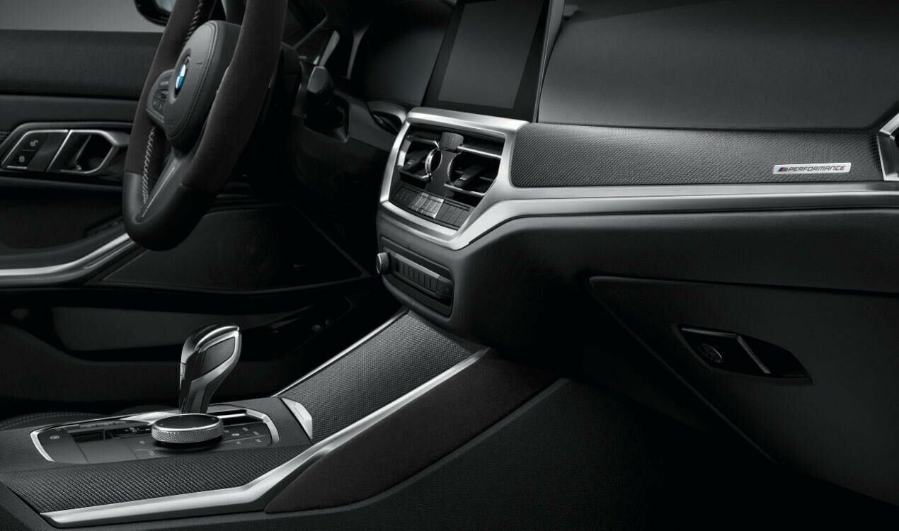 BMW G20 G21 LHD M Performance CARBON ALCANTARA Interior Trim Cover SET