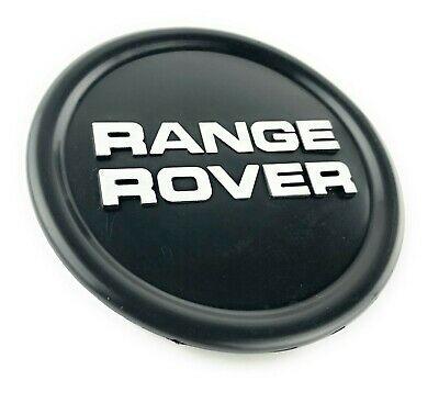 Range Rover Classic  Black Wheel Badge Center Hub Cap NEW NRC8254